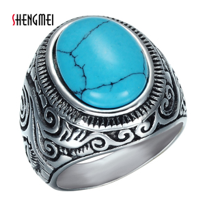 Shengmei Fashion Vintage Blue