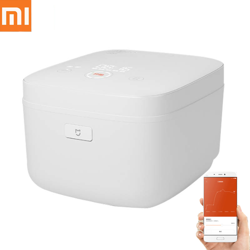 XIAOMI MIJIA IH Electric Rice Cooker 3L APP Remote Control Alloy Heating Slow Crock Pot Lunch Box Multicooker Kitchen Appliances