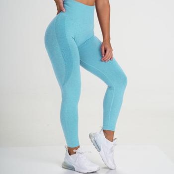 Seamless Sports Leggings Women Bubble Butt Gym Legging High Waist Fitness Pants Leggins Dropship 2