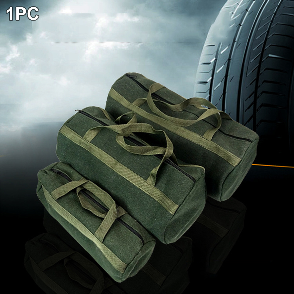 Durable Holder Tool Storage Bag Drill Tote Thicker Professional Driver Canvas Instrument Case Portable Storage Practical Pouch