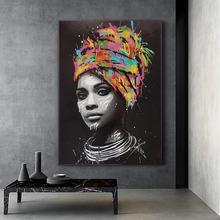 Африканские Женщины обнаженной холст настенные картины художественные