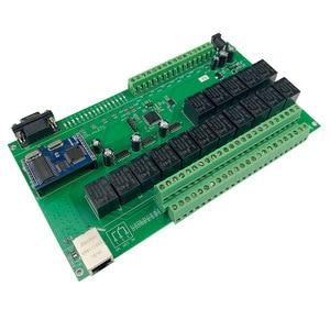 Image 4 - 16 + 8CH 이더넷 PCB 보드 Kincony 스마트 홈 자동화 모듈 컨트롤러 원격 제어 10A 릴레이 DIY 스위치 시스템 Domotica