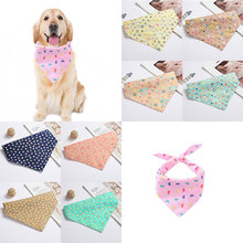 Cartoon Stars Printed Pet Dog Bandana Adjustable Small Dog Cat Scarf Fashion Bowknot Grooming Puppy Summer Pet Dog Accessories