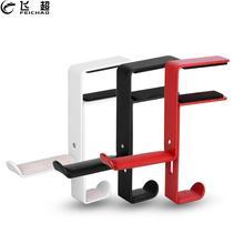 Hook Headset-Stand Desk-Mount-Holder Earphone Table-Clamp Office-Bracket Dual-Hanger