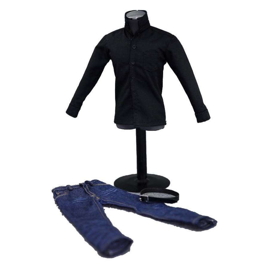 1//12 Scale Male Jacket/&Vest/&Pants Clothes Set Fit 6inches Action Figure Toy