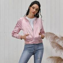 JYSS streetwear sport style autumn slim outwear coats black pink long sleeve short coats women girl female coats lady FR067 цена и фото