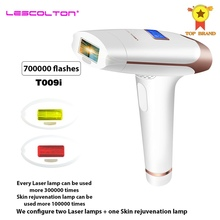 Epilator Hair-Removal-Device Ipl Laser Permanent Lescolton Pulsed 700000 3in1