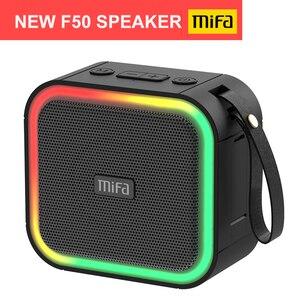 Mifa F50 беспроводной портативный Bluetooth динамик IPX7 водонепроницаемый, встроенный микрофон высокой четкости