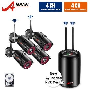 ANRAN 2MP Security Camera Set 1080P CCTV Wireless System Outdoor P2P Wifi IP Video Surveillance Kit IP Security System IR-CUT