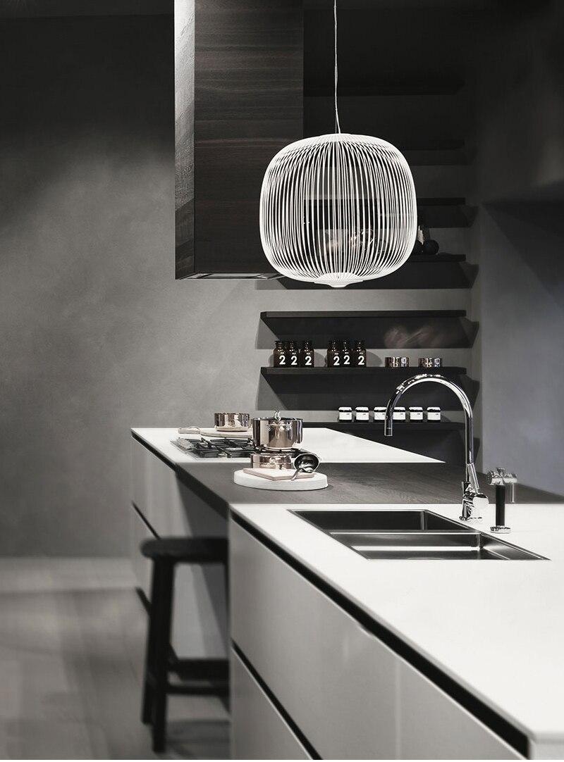 Replica Foscarini Spokes 9/9 Suspesnsion White Pendant Lamp Dining ...