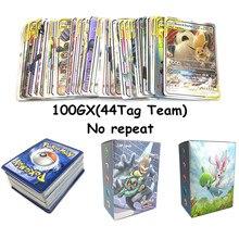 Высокое качество 25/50/100/200 игра коллекция торговой pokemones карты для забавы детей английскому языку детская gifted игрушка