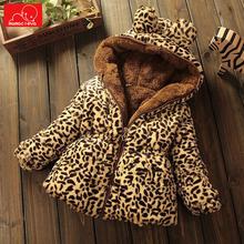winter girls plush coat warm kids hooded jacket cotton children outerwear warm kids overcoat Leopard woolen coat clothing pre sale winter jacket coat for girls kids clothing khaki plaid coat outfits clothes woolen overcoat for children outwear girls
