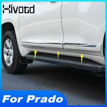 Hivotd Tür Side Trim Styling Auto Änderung Anti-kollision Moulding Schutz Teil Für Land Cruiser Prado 150 2018 2019 2020