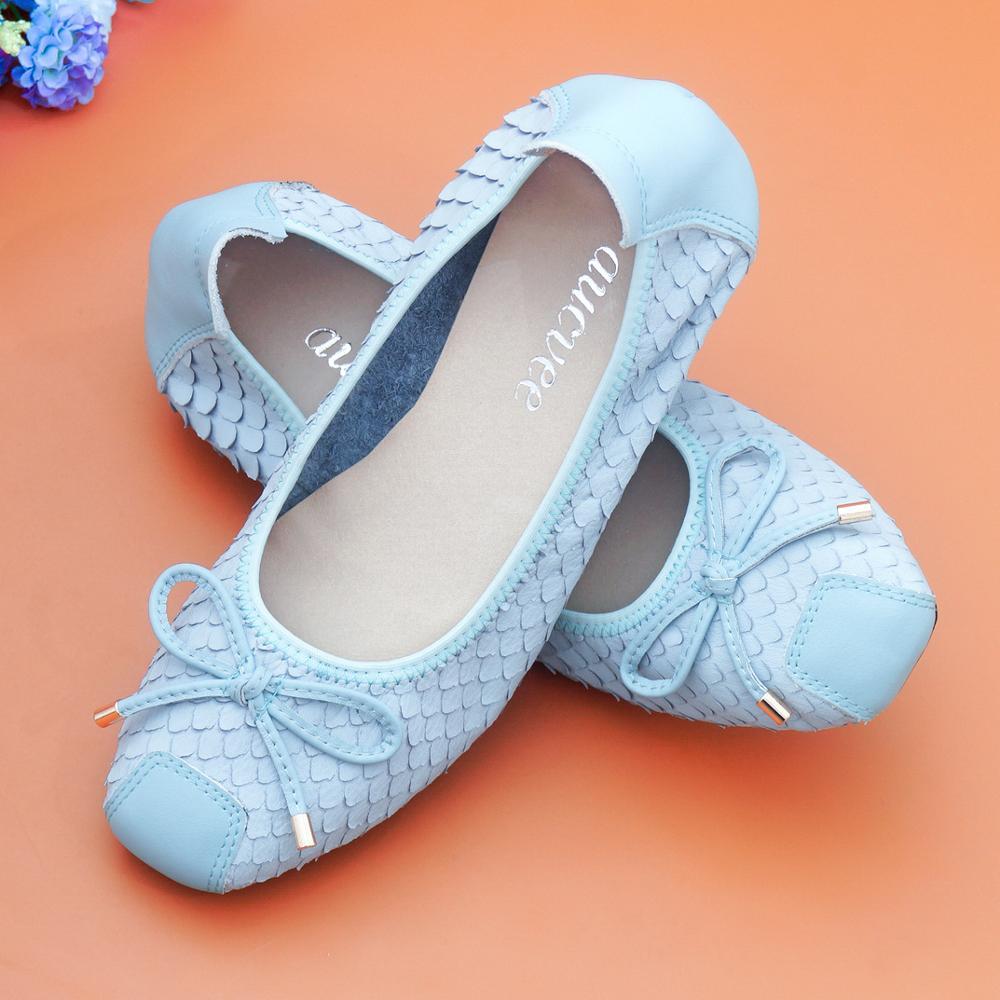 Размеры XXL; Туфли на плоской подошве с рисунком рыбьей чешуи; Женская обувь из натуральной кожи с мягкой подошвой для беременных; Повседневная Удобная обувь для вождения; Цвет розовый Обувь без каблука      АлиЭкспресс