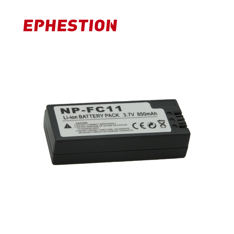 EPHESTION NP-FC11 NP FC11 Batteries NP FC11 Digital Camera Battery NPFC11 For SONY DSC-P2 P3 P5 P7 P8 P9 P10 V1 F77 FX77