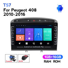 Pantalla IPS para coche Peugeot, dispositivo Multimedia con pantalla IPS de 1280x720, vídeo, navegación GPS, Android No 2Din, DVD, para Peugeot 408 2010 - 2016
