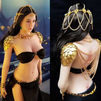 1/6 Scale Female Figure Accessory Ghost knife North Desert Princess Wind chimes set Armor Soldier Clothes Model   for 12'' Body