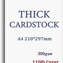 Paper-Cardstock Thick-Card White 300GSM A4 Blank Size Plain Craft You-Choose-Quantity