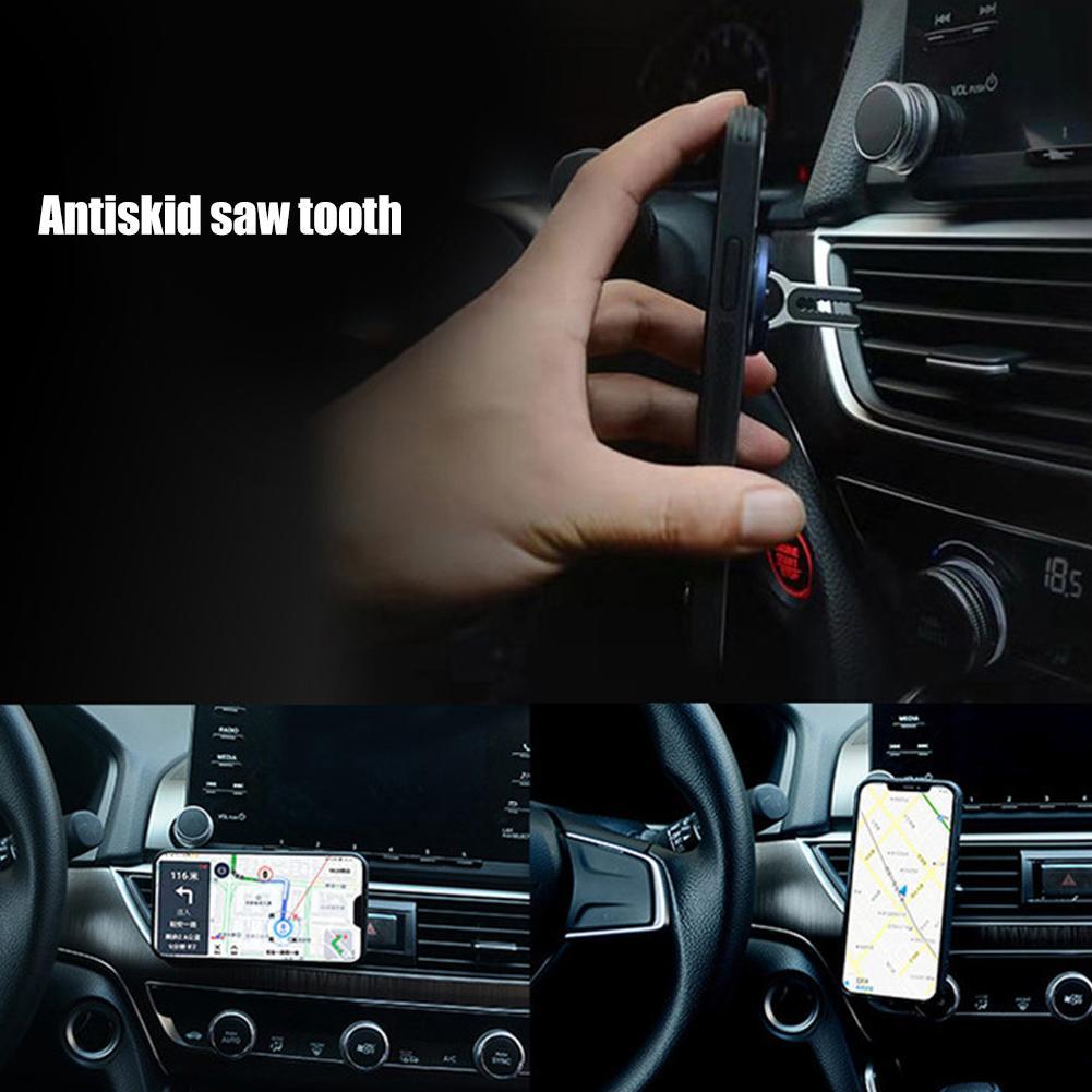 Ultra-slim 360 Degree Rotation Metal Finger Ring Phone Holder Car Air Vent Stand Bracket Support Smartphone Voiture