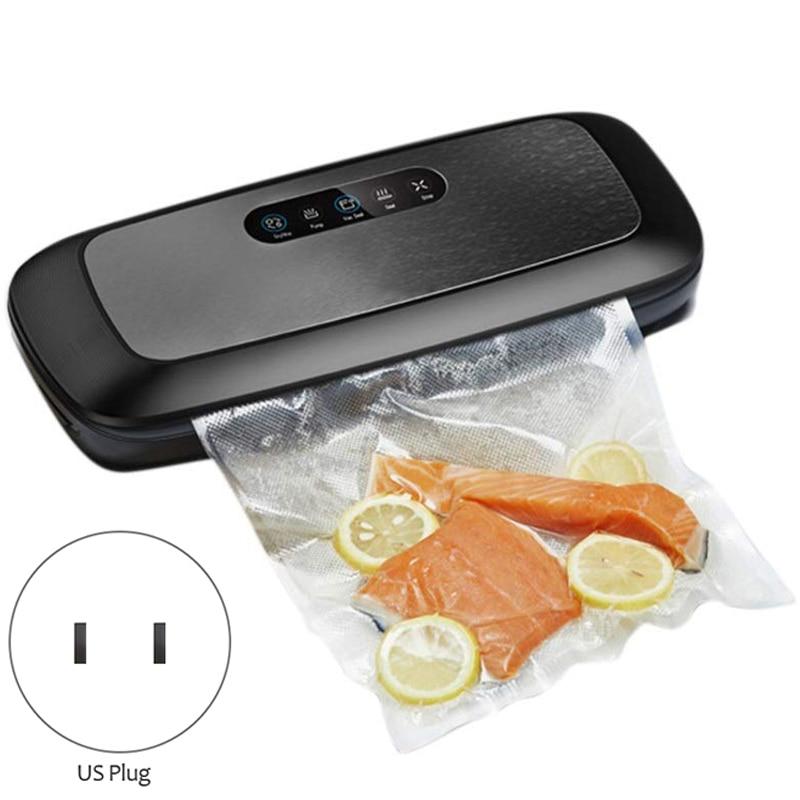 Machine d'emballage sous vide domestique petite Machine de cachetage automatique Machine de cachetage sous vide Machine de cachetage automatique de nourriture avec Be - 2