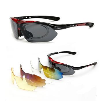 Nowe okulary rowerowe rowerowe okulary rowerowe mężczyźni kobiety Outdoor Sports okulary do jazdy Gafas ciclismo Bike okulary rowerowe tanie i dobre opinie Yu Sha Poliwęglan Unisex SHENKEY-glasses Octan Jazda na rowerze Black