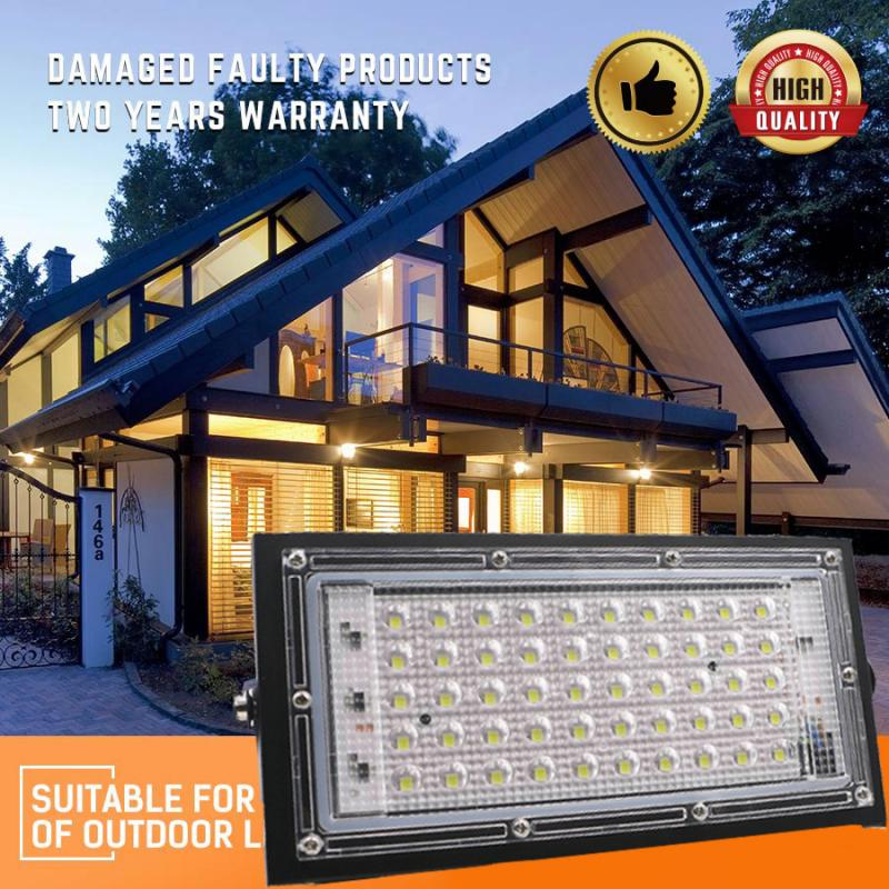 50W LED Flood Light AC 220V 110V Floodlight Spotlight IP65 Waterproof LED Street Lamp Landscape Lighting Outdoor lighting|Floodlights| |  - title=