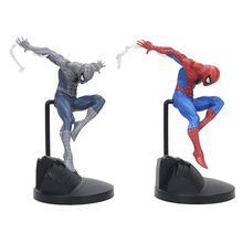 18cm Avengers Amazing Spiderman creator Action Figure black Spider Man PVC Action Figure Collectible Model Toy Gift 2018 marvel amazing ultimate spiderman captain america iron man pvc action figure collectible model toy for kids children s toys