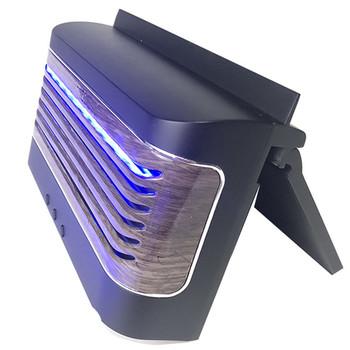 Wentylator USB chłodzenie samochodu wentylacja powietrza wylotowego wentylatory chłodzące z 3 W panelem słonecznym lampa UV z ładowaniem telefonu komórkowego ładowarka radiatora tanie i dobre opinie feizhouying CN (pochodzenie) Car fans