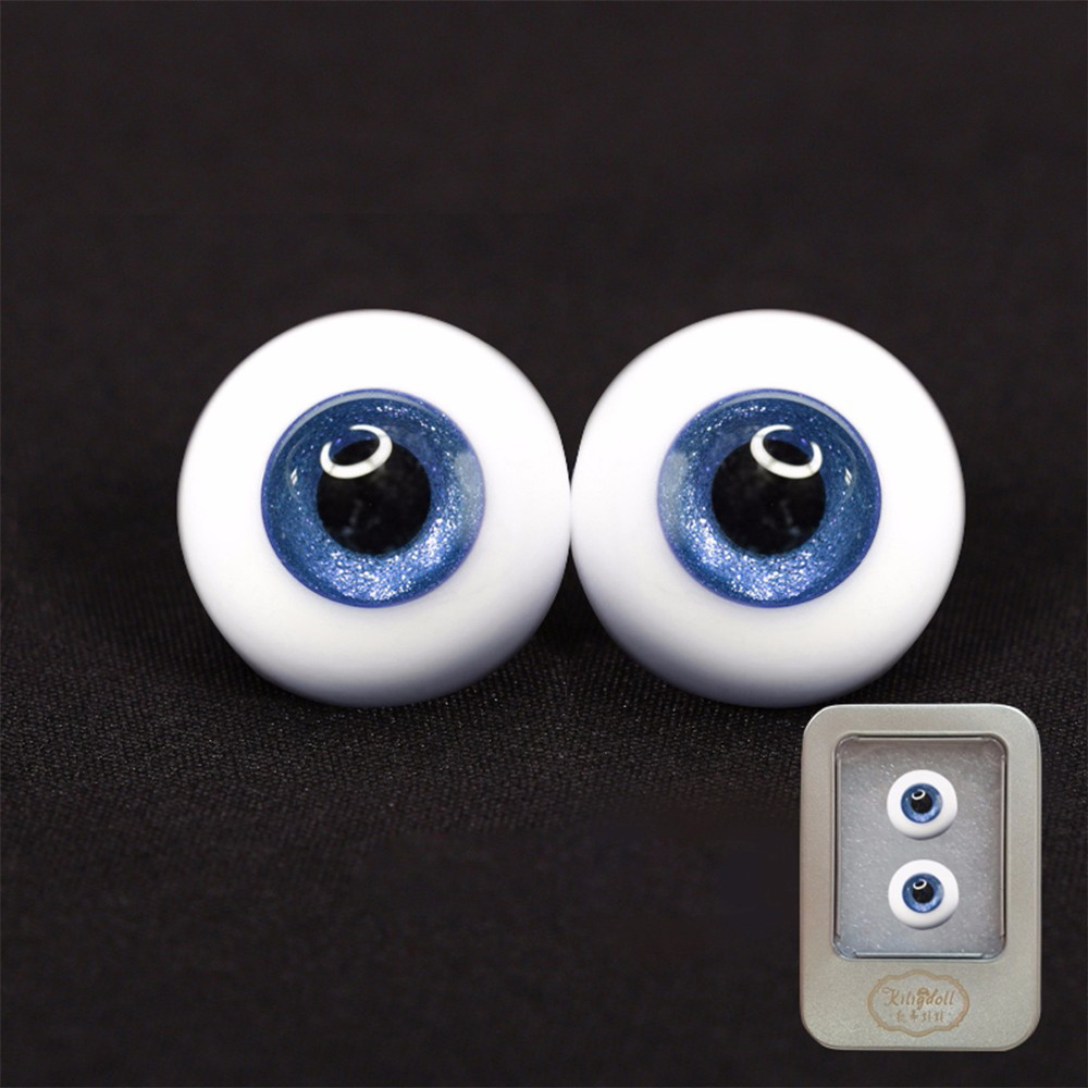 1 Pair <font><b>1/3</b></font> <font><b>BJD</b></font> SD Safety <font><b>Eyes</b></font> for 45CM Doll High-end Custom Dresses Reborn Baby Doll Accessories image