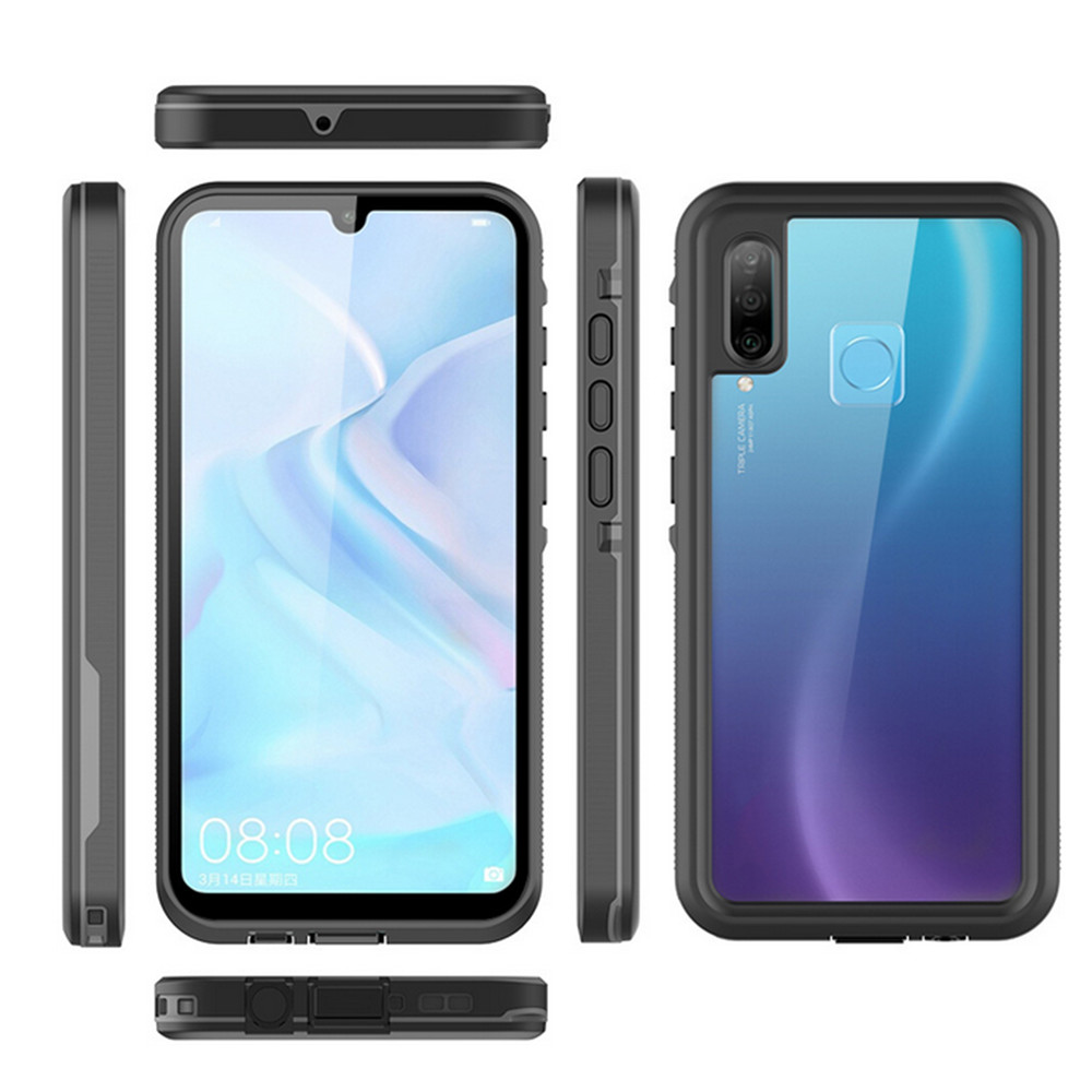 ​Waterproof <font><b>Smartphone</b></font> Protective Case for <font><b>Huawei</b></font> <font><b>P30</b></font> <font><b>Lite</b></font> Outdoor Shockproof Transparent Back Protective Cover Accessories image