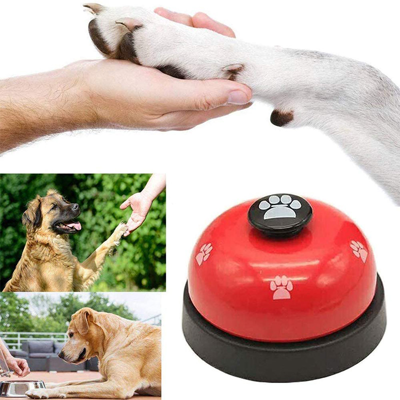 Pet Training Bells Dog Cat Training Eating Communication Press Call Bell Puppy Toilet Potty Training Interactive Toy-5