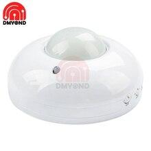 AC 110V-240V Für Home Hohe Sensitivety Menschliches 360 grad PIR infrarot motion sensor Licht Decke Schalter einbau Schalter