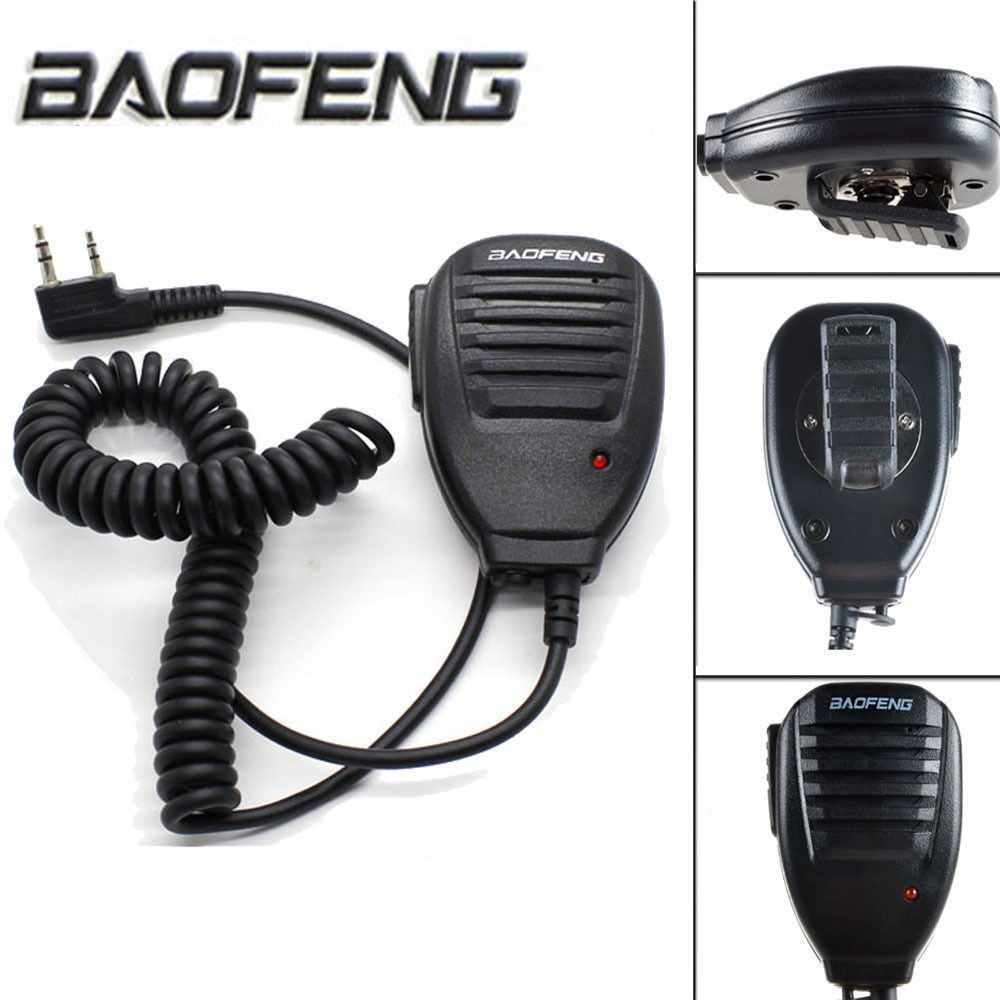Baofeng 2 ピン BF-S112 双方向トランシーバーラジオハンドヘルドスピーク UV-5R 用マイク/888 s/V2