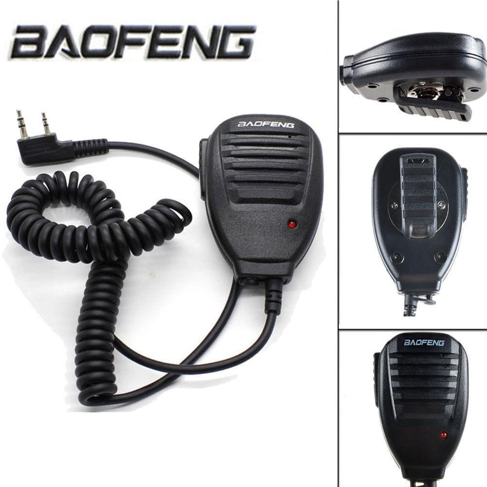 Baofeng 2 Pin BF-S112 Two Way Walkie Talkie Radio Handheld Speake Mic For UV-5R/888S/V2