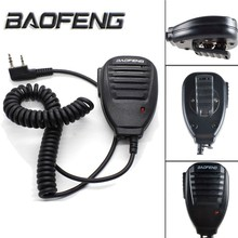 Walkie-Talkie Radio Speake Baofeng 888S/V2 Two-Way Handheld 2-Pin Mic for BF-S112