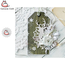 Catlove Lace Circle Background Metal Cutting Dies Scrapbooking Stencil Die Cuts Card Making DIY Craft Embossing New Die For 2020(China)