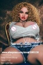 NEUE WMDOLL Top Qualität 150cm M Tasse Riesigen Titten Echt Silikon Sex Puppe Realistische Lebensechte Vagina Liebe Puppe Für männer Erwachsene Sexy Puppe