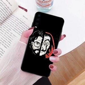 NBDRUICAI Испания ТВ деньги Heist дом бумага La Casa de papel черный чехол для телефона Huawei P30 P20 P10 P9 P8 Mate 20 10 Pro Lite