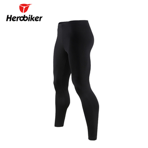 Image 3 - HEROBIKER Motorcycle Thermal Underwear Set Mens Motorcycle Skiing Winter Warm Base Layers Tight Long Johns Tops & Pants Set