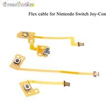 Reparação sl sr zl zr l botão fita cabo flexível para nintendo ns switch joy-con l r botão chave para peças de controlador joycon