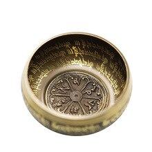 4.72 inch (12CM) BATESMUSIC Tibetan Singing Bowl Set 2.8 Inch Sound Bowl Meditation Bowl