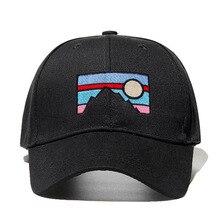 Новая мужская бейсбольная Кепка с вышивкой «Сумерки», хлопковая шапка с вышивкой «папа», весенне-осенняя хлопковая бейсболка для гольфа, головные уборы, Прямая