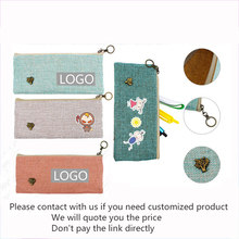 Custom Pen Case Printed Logo Printing Pattern Student Prize Training Levent Advertising Gifts Customized Creative Present Supply