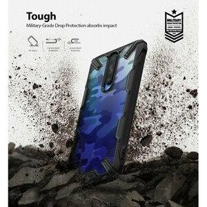 Image 3 - Ringke Fusion X per Xiaomi Redmi K30 Caso Trasparente Dura del PC Della Copertura Posteriore Molle di TPU Frame per Xiaomi Poco X2