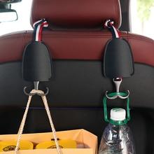 Car Multifunction Hook up Organizer Hidden Headrest Double Hanger Car Seat Back Hooks Hangers Car Auto Accessories