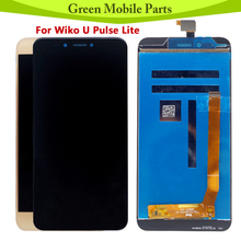 5.2 inch Tested LCD For Wiko U Pulse Lite LCD Display  With Touch Screen Assembly For Wiko U Pulse Lite LCD black white for wiko ridge 4g lcd touch screen assembly digiziter replacement lcd display for wiko ridge 4g free shipping