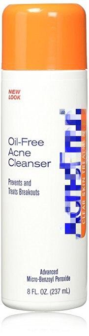 oil free acne cleanser 2.5% 237ml