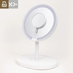 Image 1 - 새로운 Youpin XY 3 배 돋보기 메이크업 거울 거울 페이셜 브러쉬 클렌징 홈 욕실 화장품 거울