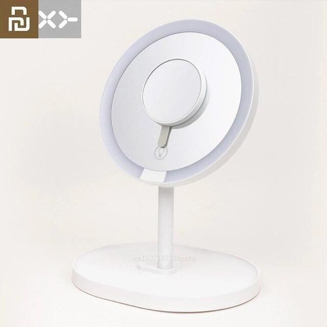 새로운 Youpin XY 3 배 돋보기 메이크업 거울 거울 페이셜 브러쉬 클렌징 홈 욕실 화장품 거울