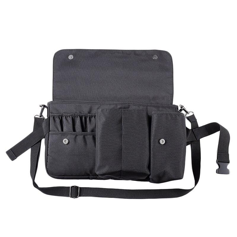 Professional Cosmetic Makeup Brush Bag Case Portable Cosmetic Brush Holder Organizer With Artist Adjustable Belt Strap